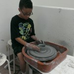Jeremiah on the Wheel age 9